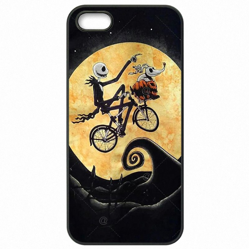 Mobile Pouch Cover Skin Nightmare Before Christmas Jack and Sally Skull For Nokia Lumia 830 For Junior