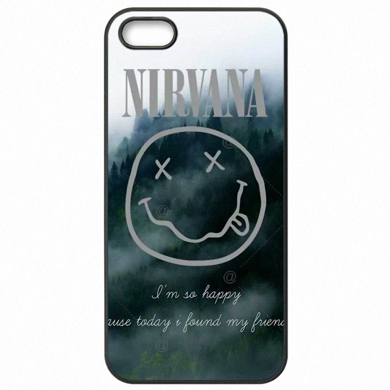 Very Cheap Nirvana Smiley Face Logo Pop Music Rock Band For Samsung Galaxy On Nxt Protector Phone Skin Case