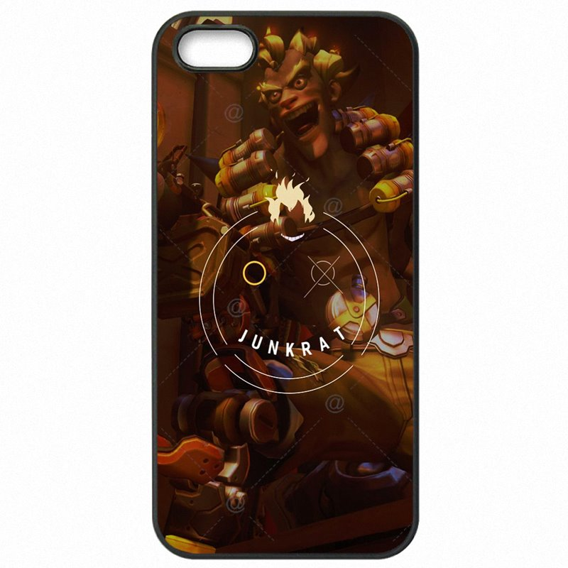 My OVERWATCH Junkrat Art Poster For LG G5 H868 Cell Phone Bags Shell