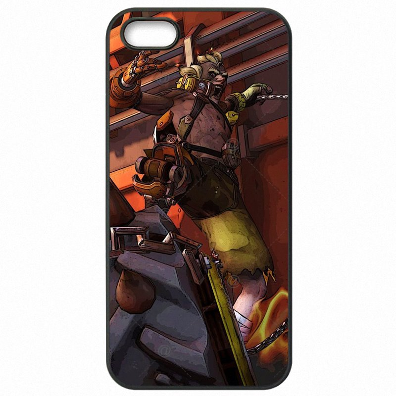Top Quality For Galaxy A5 2017 A520K OVERWATCH Junkrat Art Poster Protector Phone Cover Shell