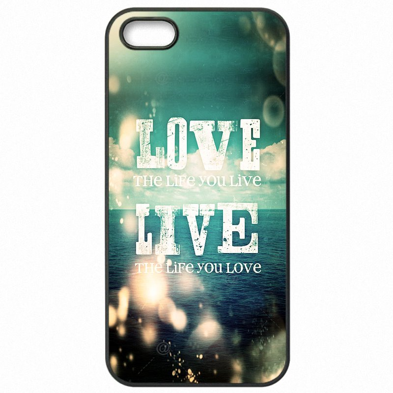 Fashion Ocean Live the Life You Love Inspirational For Xiaomi Redmi 3 Mobile Pouch Cases Cover