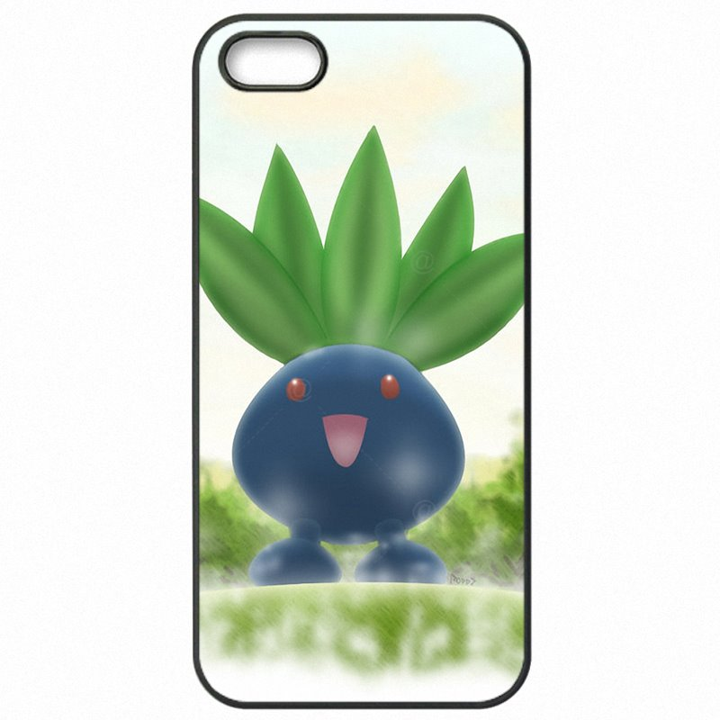 Plastic Phone Bags Oddish Pokemon perler bead sprite For Huawei P8 Lite 5 inch Release