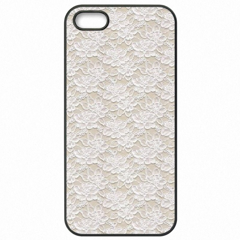 Femmes For Lenovo K30-T Pastel Pink White Burlap Laces Art Pattern Print Protector Phone Cover