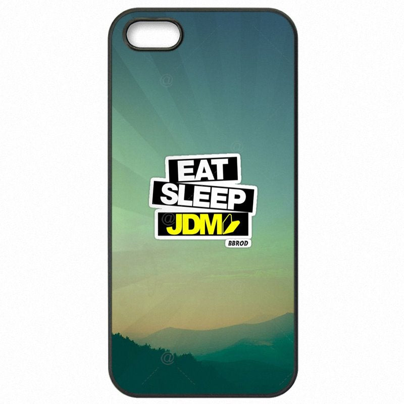 Stunning Pattern Sticker Bomb eat sleep JDM For Meizu Blue Note3 Accessories Pouches Cover Shell