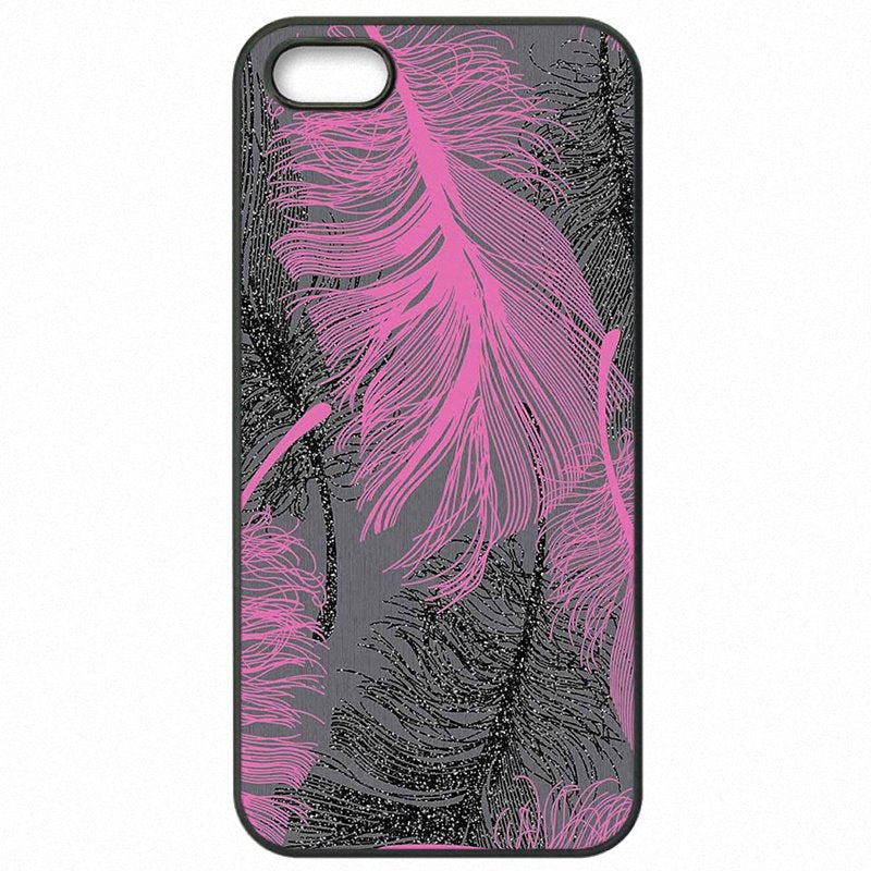 Best Price For Galaxy A5 2016 A510FD Pink Bird Feather Pattern Accessories Phone Covers