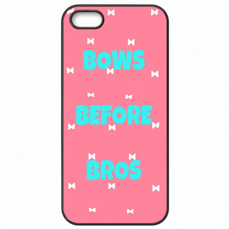 Accessories Phone Fundas Pink Bows Before Bros Quotes For Galaxy J7 2015 J700P Bling