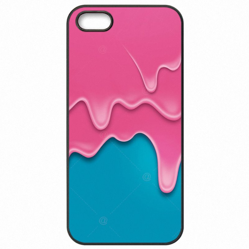 Hard Phone Case Capa For Lenovo K6 Note Pink Paint Dripping La vie en rose Lightweight