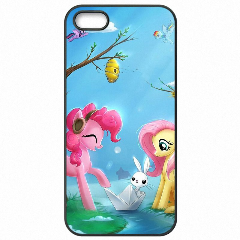 Large Pink Pinkie Pie Unicorn Pets Horse Art Print For Galaxy A5 2016 A510M Mobile Phone Covers