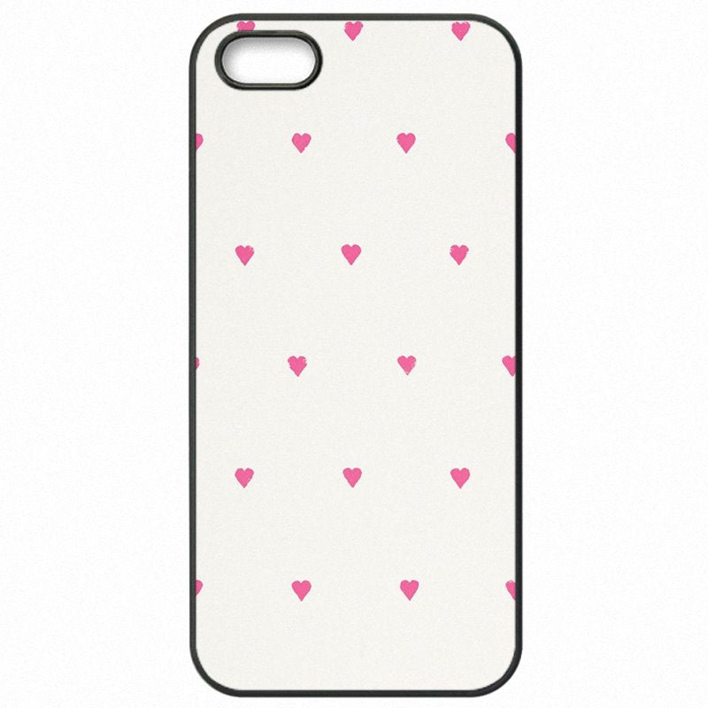 Choose For LG Fortune Pink Rose Heart With Stripes Poster Mobile Pouch Shell Case