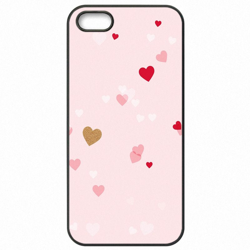 Sexy For Galaxy Note Edge N915X Pink Rose Heart With Stripes Poster Mobile Phone Capa