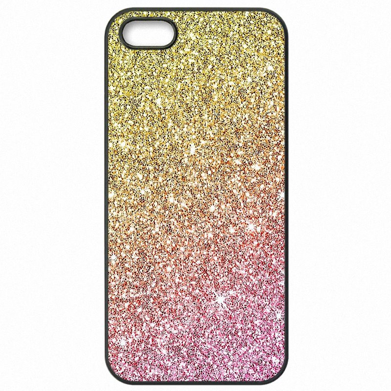 Hard Mobile Phone Fundas For One Plus 3 Rain Pink gold glitter sparkles Incredible chevron pattern Fresh