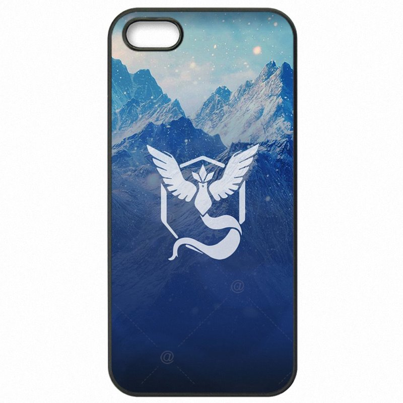 Light Pokemon Go Pokeball Team Valor Team Mystic Team Game For Huawei Honor 6 5 inch Accessories Pouches Bags Shell
