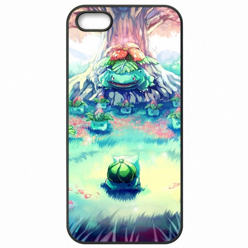 Popular For iPod Touch 4 3.5 inch Pokemons Go Bulbasaur Charmander Squirtle Cell Phone Fundas