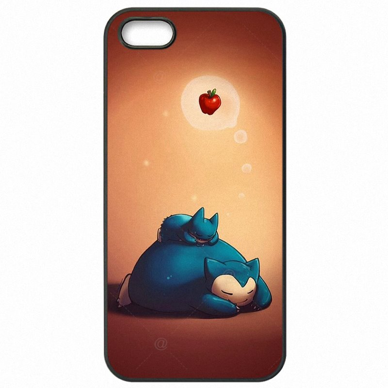 Plastic Phone Case Pokemons Go Bulbasaur Squirtle Jigglypuff snorlax Sleep On For Galaxy Core Prime G360H Stylish