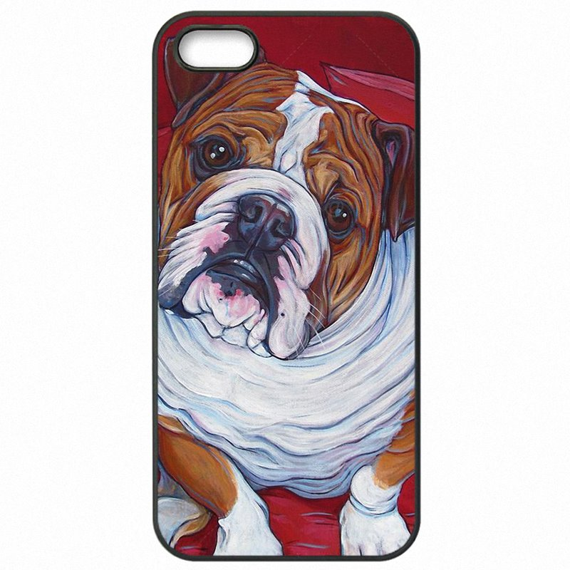 My Polynesian english bulldog art painting dog colorful For Galaxy S5 Active Hard Mobile Phone Case Capa