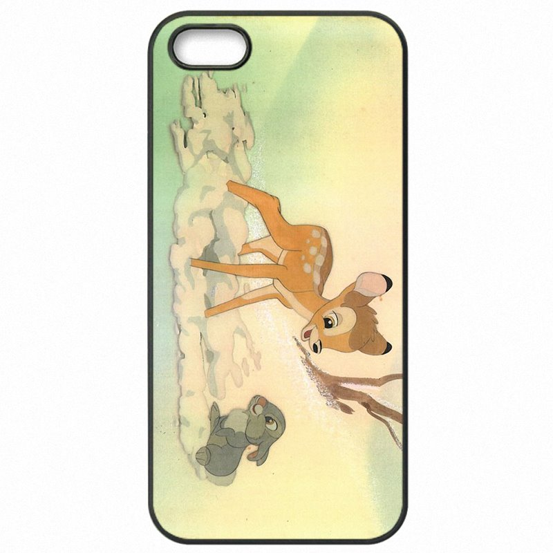 Plastic Phone Case Capa For Galaxy Note Edge N915A Pretty Bambi And Thumper Poster New Style