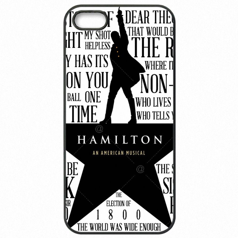 Top Pretty Broadway Cast Hamilton Pattern Art Logo For Moto G4 Plus XT1644 Accessories Phone Skin Case For Motorola Case