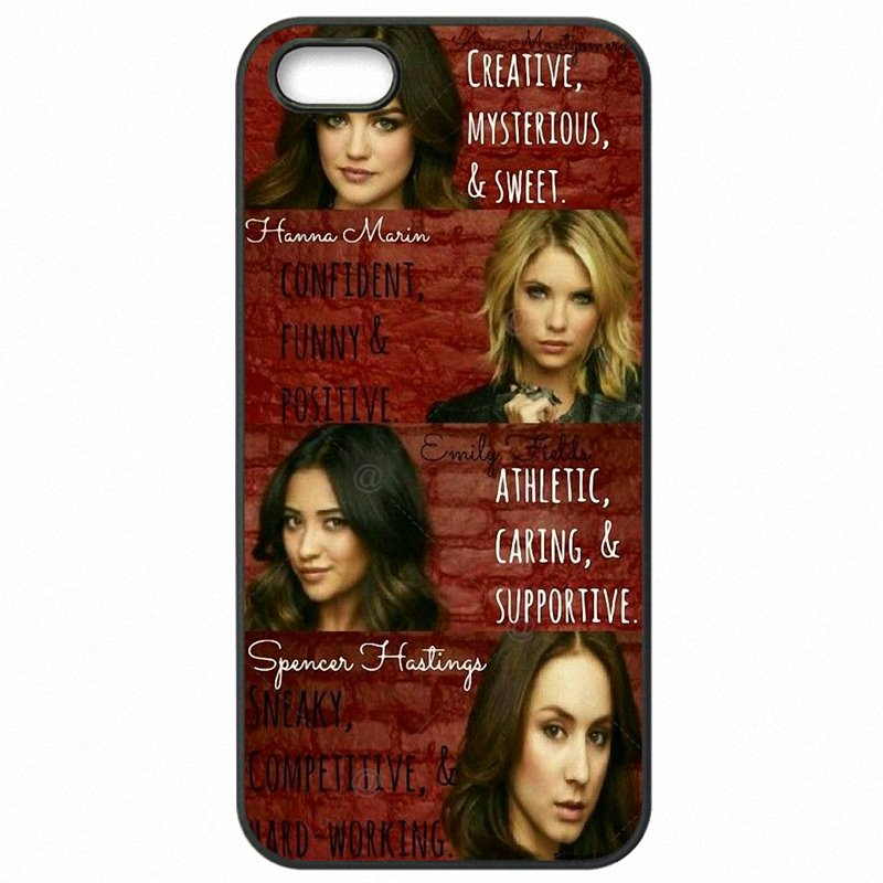 Colorways Pretty Little Liars PLL TV Show Printed For Huawei P8 Lite 2015 Hard Mobile Phone Skin