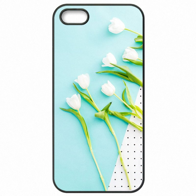 Mobile Phone Accessories Red Blue Spring Colorful Tulips flower field Art For Lenovo K6Note Your Favorite