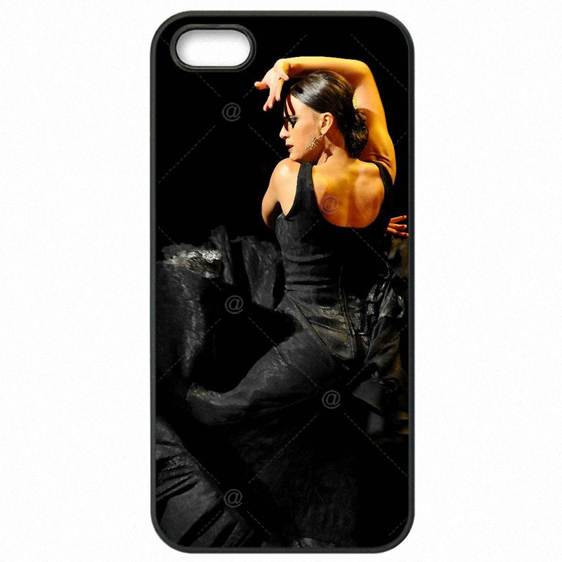 Hard Plastic Phone Cover Skin Red The Spanish Dancer Flamenco Art For Samsung Galaxy J7 Duos Store