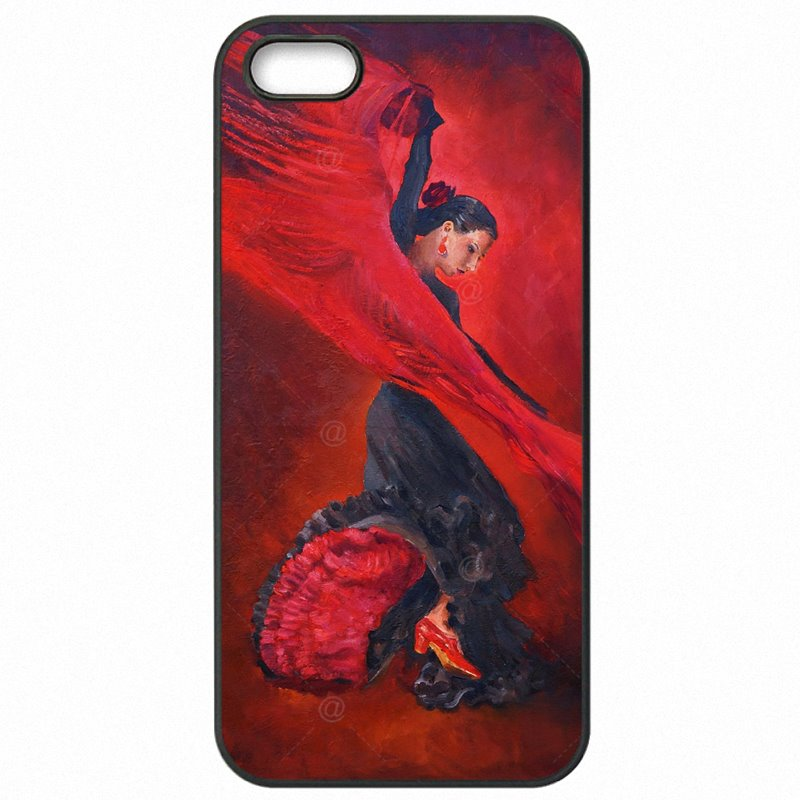 Jeunes Red The Spanish Dancer Flamenco Art For Galaxy J7 2015 Hard Plastic Phone Cases