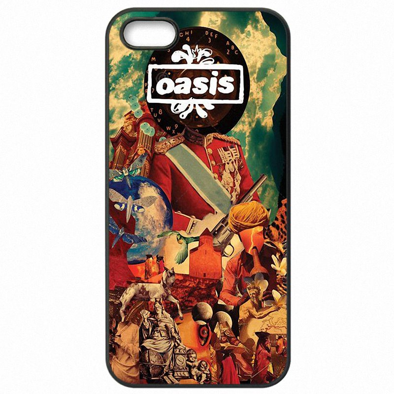 Protector Phone Cover Skin For Galaxy A7 2016 Rock Punk Music oasis logo Rain Noel Gallagher Fiyat