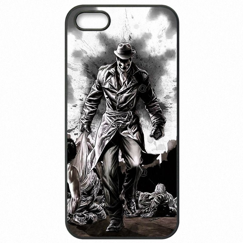 Authentic Rorschach Watchmen Wall Comedian Badge For Galaxy S7 edge Duos Accessories Phone Skin Case For Samsung Case