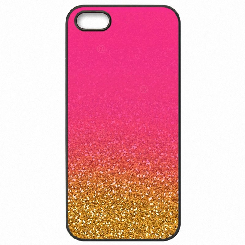 Upcoming Rose gold glitter sparkles Pastel Art Print For Huawei Honor 5C Hard Plastic Phone Covers