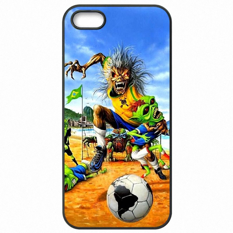 Mobile Phone Cover Skin For Moto G4 Play XT1604 Run To The Hills (UK) Iron Maiden Poster Rock Band Zombie Art Most Popular