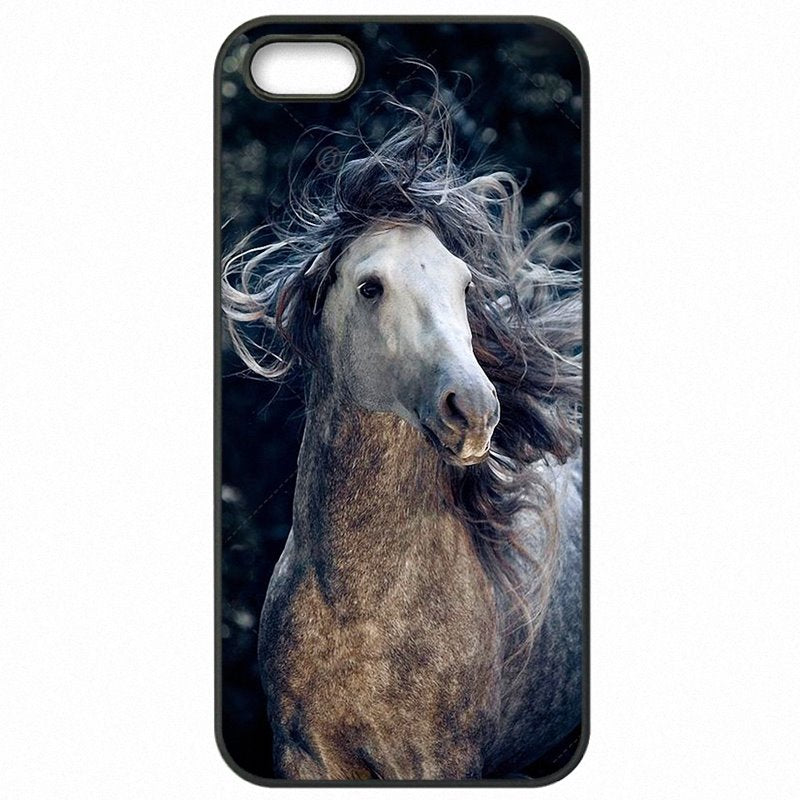 Large For LG K10 M250N Running Dappled Horse Art Poster For LG Case Accessories Phone Capa