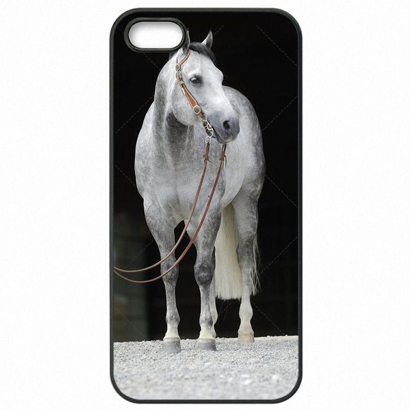 Hard Plastic Phone Accessories For iPod Touch 6 4 inch Running Dappled Horse Art Poster Incredible For iPhone Case