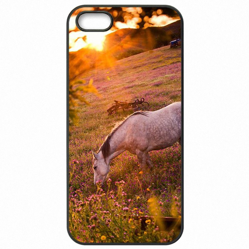 Conveniency For Huawei P9 Lite 5.2 inch Running Dappled Horse Art Poster Protective Phone Bags Case