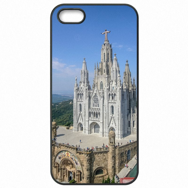 Quality Santuari del Sagrat Cor Tibidabo Barcelona For Huawei Honor 5C Hard Phone Cases Cover