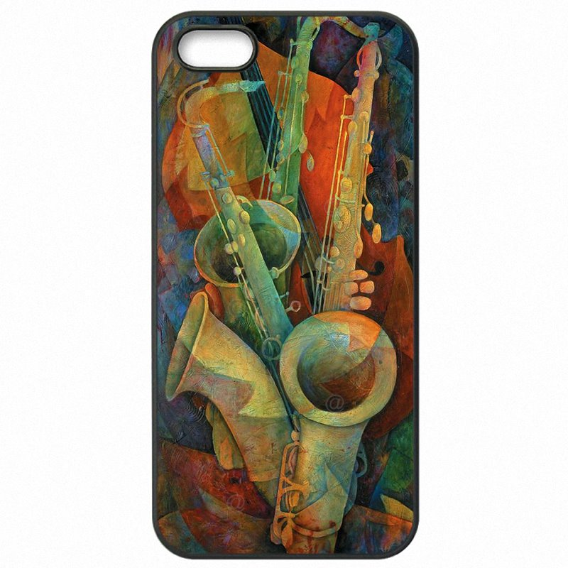 Free Shipping For Galaxy J7 Prime G610Y Saxophone SAX Music jazz symbols Art Poster Accessories Phone Bags Case
