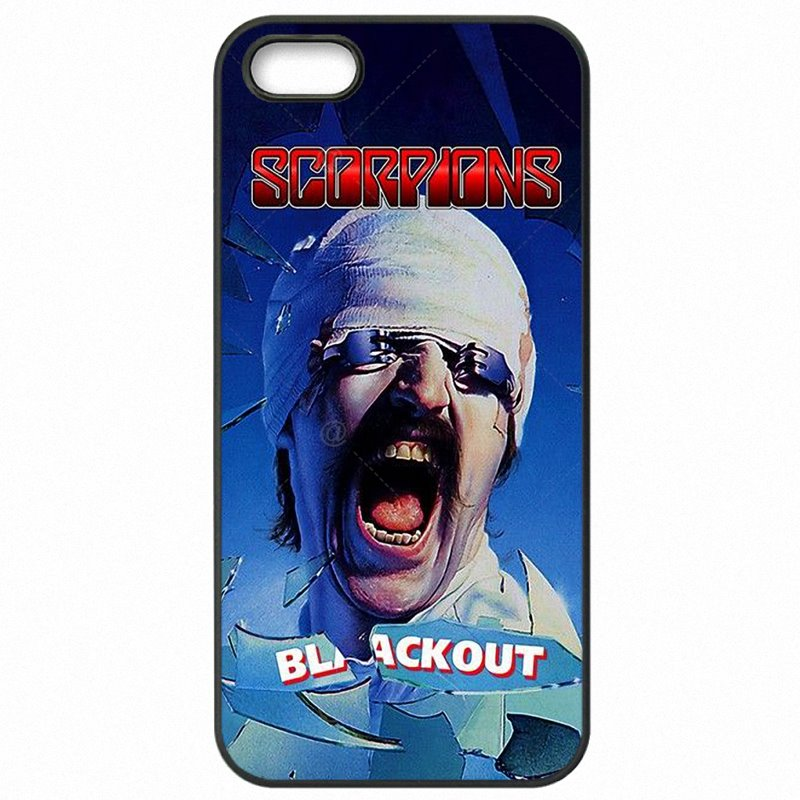 Hard Black Skin Case Cover For Moto G4 Play XT1603 Scorpions Heavy metal rock band Colorful