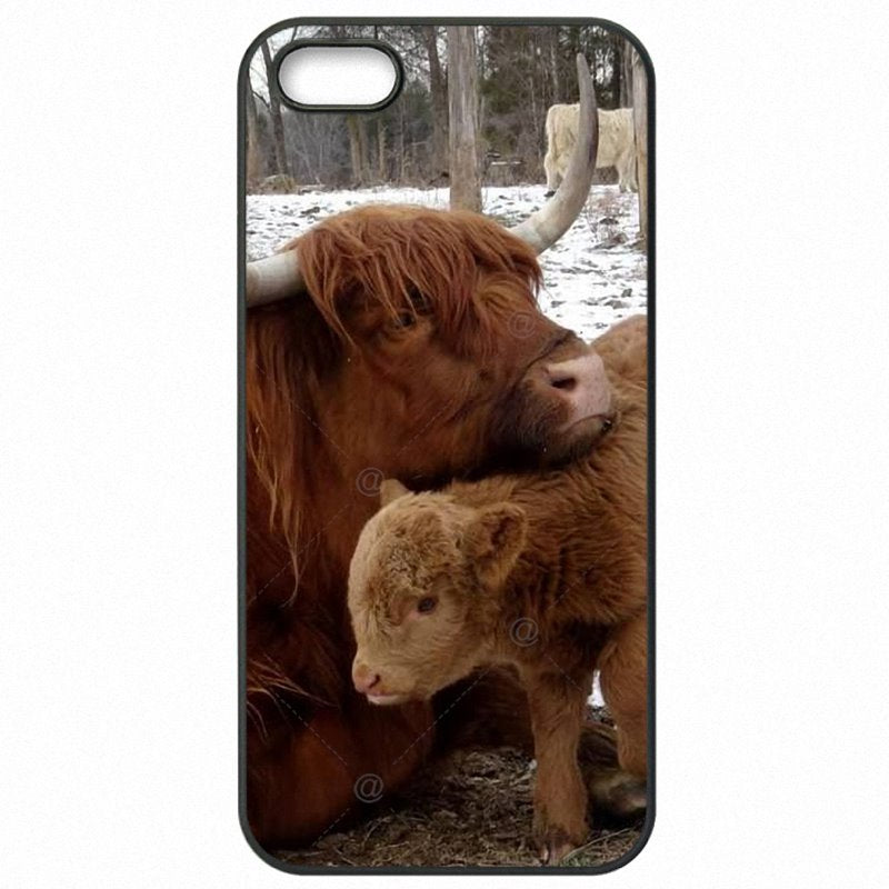 High Top Scotland's Highland Cattle Print For Moto X Play XT1563 Accessories Phone Cover Shell