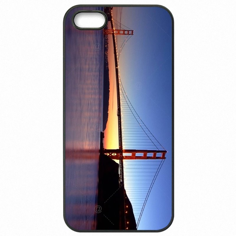 Colorways For Galaxy A5 2016 Duos Sea Bridge Sunrise romantic Poster Protector Phone Fundas