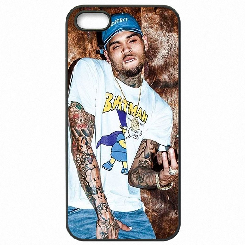 Mobile Phone Skin Case Singer Charlie Chris Brown Breezy RNB For LG Fortune Nouvelle