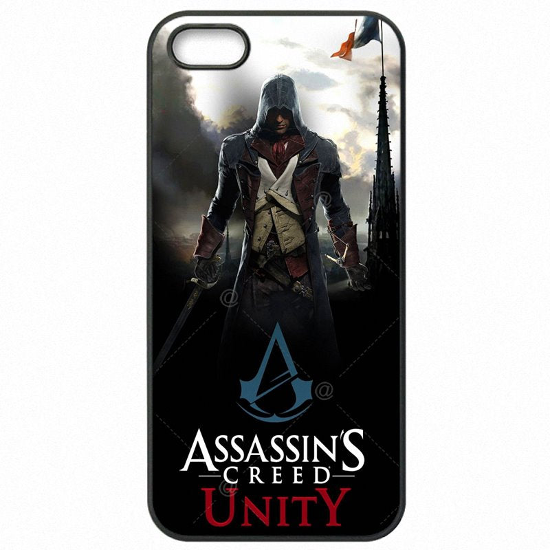 Hard Mobile Phone Cases Cover Skull Assassins Creed game figure Art For Huawei P8 Lite 5 inch Low Price