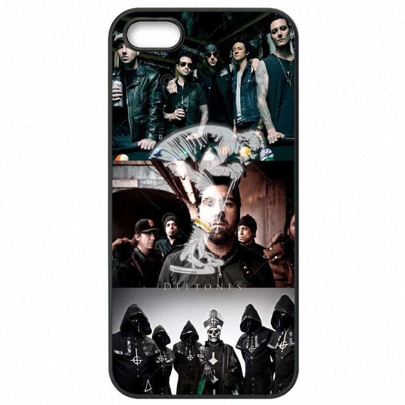 Cheap Real Skull Rose Deftones OWL Design Music Band For Sony Xperia M2 Protective Phone Bags Case