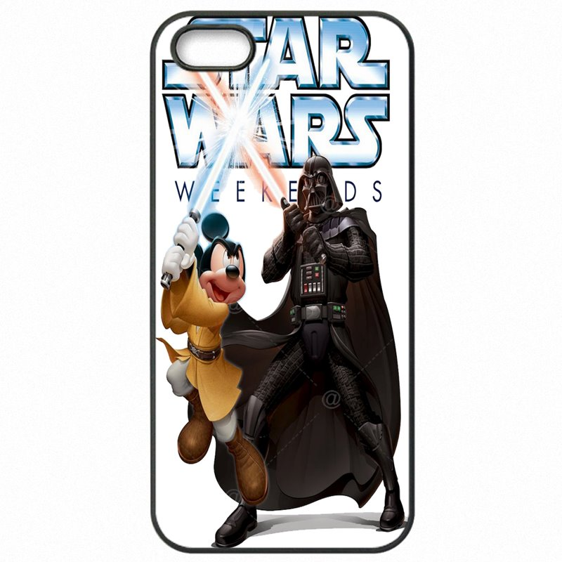 Mobile Pouch Cover For LG Fortune Star Wars Mickey Mouse Art New Released