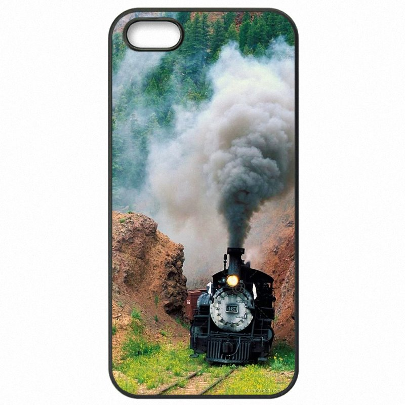 Large For iPhone 6S Plus 5.5 inch Steam Trains Galore old trains Cell Phone Case Cover