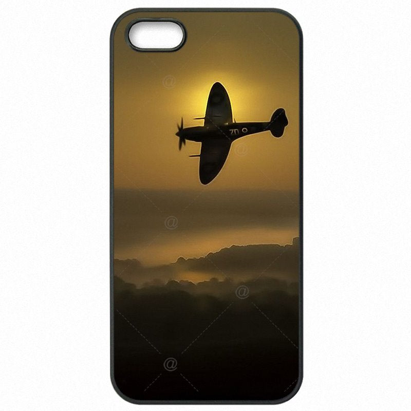 Plastic Phone Case Supermarine Spitfire beautiful plane ever For Huawei Honor 4X Stylish