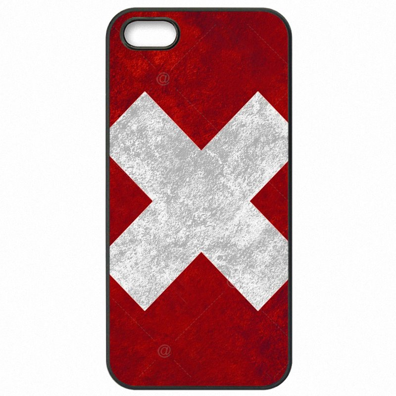 Going Cheap Switzerland Swiss Flag Banner For Sony Xperia M2 D2302 Mobile Pouch Accessories