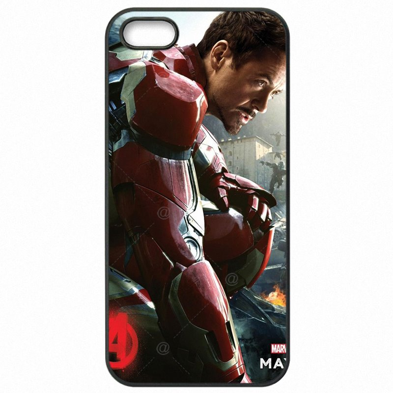 Hard Plastic Phone Skin Case The Avengers movie Superhero iron man Robert Downey Jr For Sony Xperia XA F3115 The Newest