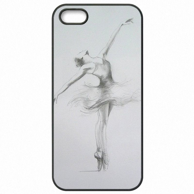For Kids For Galaxy Note Edge N9150 The Ballet Girl Sexy woman Dance Pattern Art Hard Plastic Phone Cover Fundas