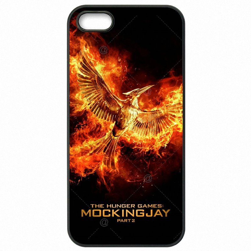 Popular For Huawei Honor 6 5 inch The Hunger Games movie Mockingjay bird Plastic Phone Accessories