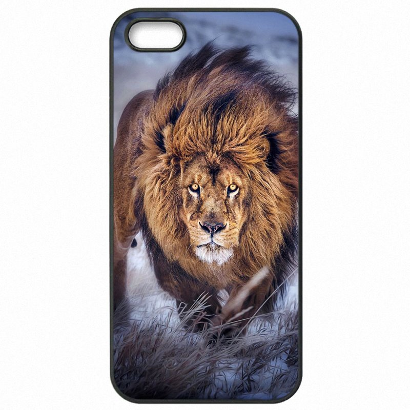 Grossiste For Nokia Lumia 830 The Lion King Golden Art Animals Pattern Plastic Phone Skin Shell