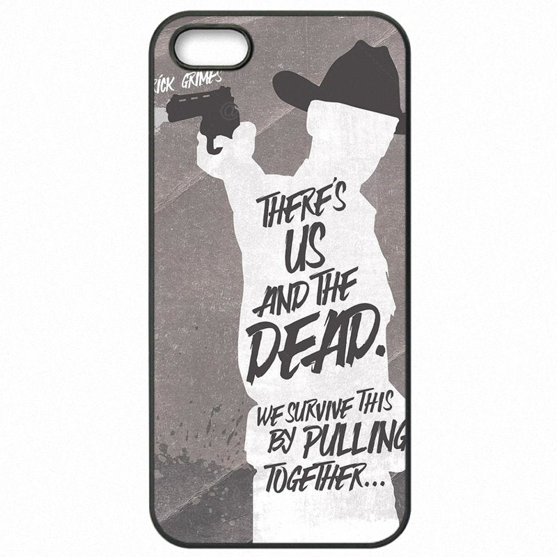 Cute For Xiaomi Mi3 5 inch The Walking Dead game Poster Pattern Protector Phone Skin Shell