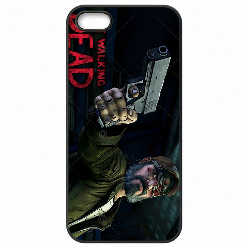 Plastic Phone Cases For Samsung Case The Walking Dead game Poster Pattern For Galaxy A5 2017 A520F Latest